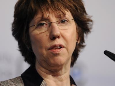 Umstritten: Die Außenbeauftragte der EU, Catherine Ashton.