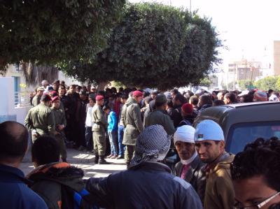 Gewalt in Tunesien
