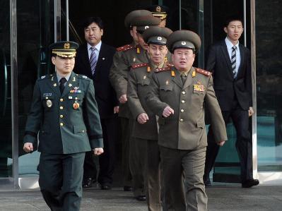 Militärgespräche zwischen Nord- und Südkorea