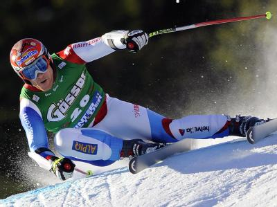 Der Schweizer Altstar Didier Cuche gilt in Garmisch-Partenkirchen als Favorit.