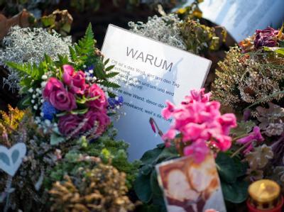 Grab eines Opfers