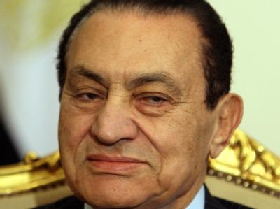 Der ägyptische Präsident Hosni Mubarak.