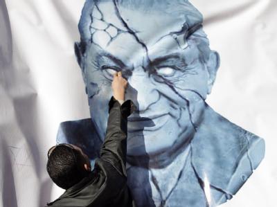 Mubarak-Plakat