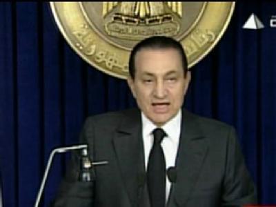 Mubarak-Auftritt