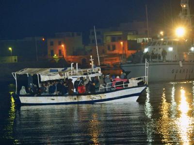 Fl�chtlingsboot