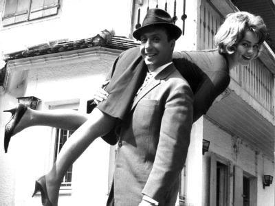 Peter Alexander und Cornelia Froboess