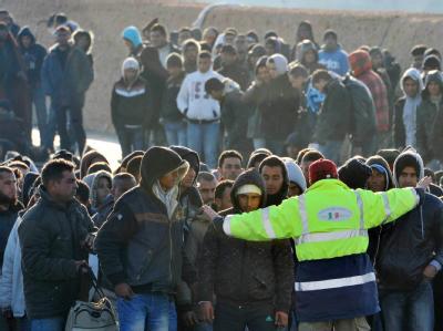 Tunesische Flüchtlinge