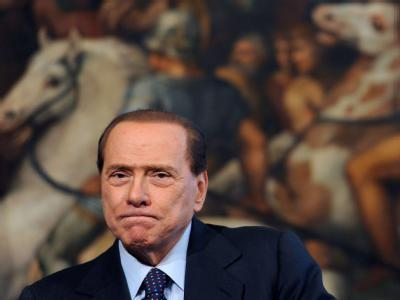 Italiens Regierungschef Silvio Berlusconi steht unter Druck.
