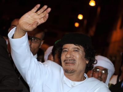 Muammar al-Gaddafi (Archivfoto vom 16.11.2009) herrscht seit mehr als vier Jahrzehnten in Libyen.