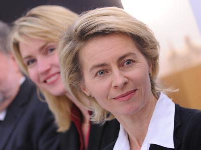 Ursula von der Leyen und Manuela Schwesig
