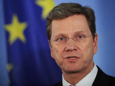 Außenminister Guido Westerwelle (FDP) im Auswärtigen Amt