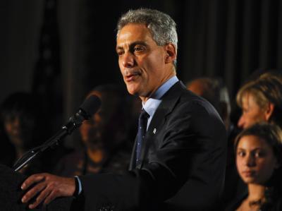 Rahm Emanuel, Obamas bisheriger Stabschef im Weißen Haus, ist neuer Bürgermeister von Chicago.