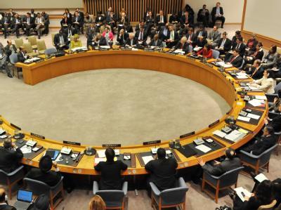 Der UN-Sicherheitsrat bezog geschlossen Position gegen das Regime von Muammar al-Gaddafi.