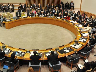 Der UN-Sicherheitsrat in New York. (Archivbild)