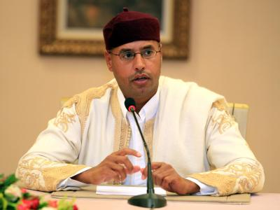 Saif al-Islam Gaddafi, der Sohn des libyschen Staatschefs, hat Gespräche mit den Aufständischen angekündigt. (Archivfoto)