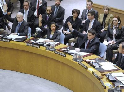 Votum für Sanktionen gegen Libyen im UN-Sicherheitsrat