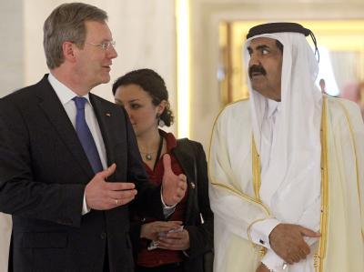 Wulff in Katar
