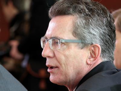 Bundesinnenminister Thomas de Maiziere (CDU) soll Nachfolger von zu Guttenberg werden.