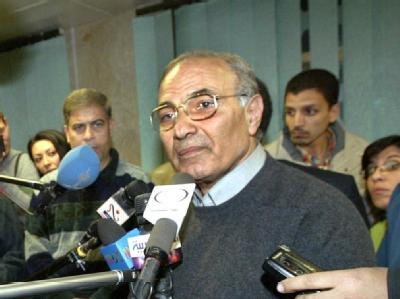 Legt sein Amt nieder: Ahmed Schafik. (Archivbild)