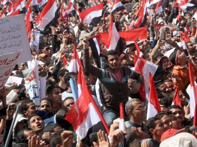 Demonstration auf dem Tahrir-Platz in Kairo: Amnesty International sieht die Durchsetzung von Grundrechten auf dem Vormarsch.
