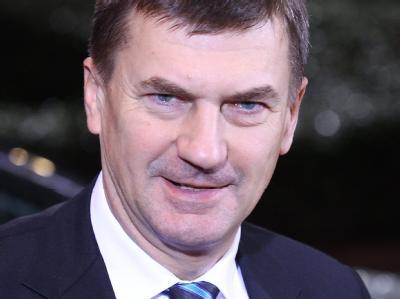 Der estländische Premierminister Andrus Ansip. (Archivbild)