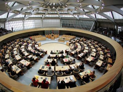 Die Abgeordneten des NRW-Landtags in Düsseldorf (Archivbild).