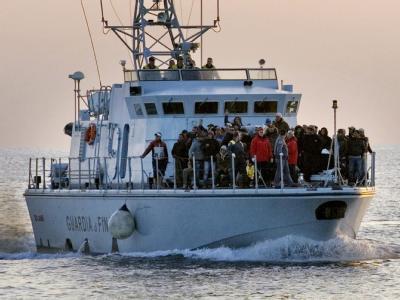 Flüchtlinge aus Tunesien