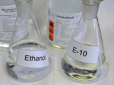 Ärger um Biosprit E10 - Raffinerie Schwedt