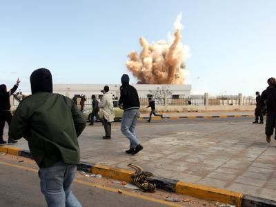 Luftangriff auf Ras Lanuf