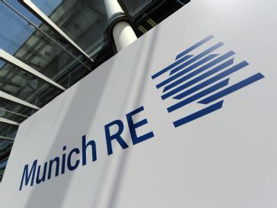 Logo der Munich Re.