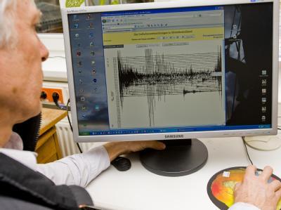 Seismologe Reinhard Mittag