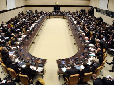 Treffen der NATO-Au�enminister