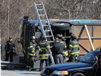 Tödlicher Busunfall in New York