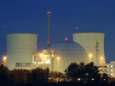 Das Atomkraftwerk Biblis in Südhessen ist in Deutschland umstritten.