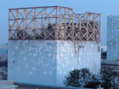 Das Handout der Betreiberfirma TEPCO zeigt die Schäden am Reaktor Nummer 1