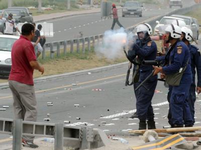 Straßenkampf in Manama