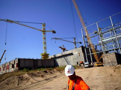 Baustelle des geplanten Atomkraftwerks im bulgarischen Belene (Archiv).