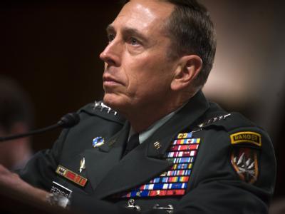 US-General David bei einer Anhörung zur Lage in Afghanistan.