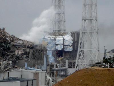 Fukushima in Trümmern