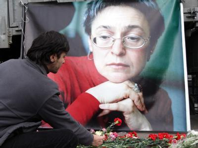 Trauer um Politkowskaja