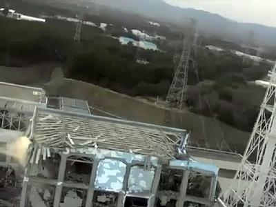 AKW Fukushima nach den Bränden. Foto:/Video: Tepco