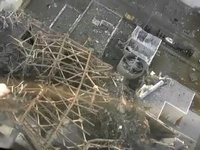 Das AKW Fukushima nach den Bränden in der vergangenen Woche. Foto:/Video: Tepco