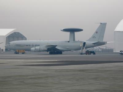 Awacs-Flugzeug in Afghanistan