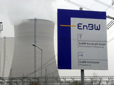Das Kernkraftwerk Philippsburg: Nach dem Atom-Moratorium der Bundesregierung hat der Energiekonzern EnBW Block I des Kraftwerks am 17.3.2011 vom Netz genommen.