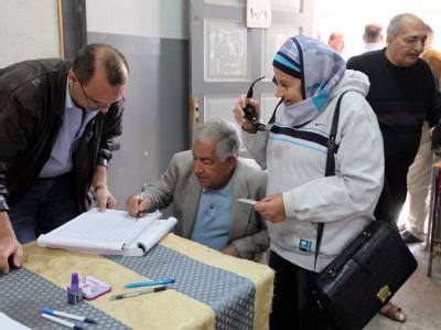 Wahllokal in Kairo: 40 Millionen Ägypter sind zur Stimmabgabe aufgerufen.