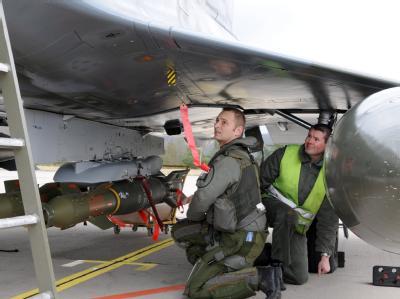 Französischer Kampfjet