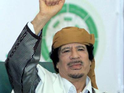 Libysche Machthaber Muammar al-Gaddafi steht im Fadenkreuz der Allianz der Willigen.