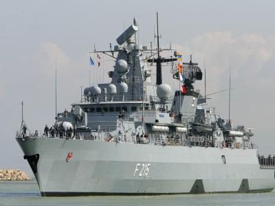 Die deutsche Fregatte