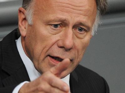 Der Fraktionsvorsitzende von Bündnis 90/Die Grünen im Bundestag, Jürgen Trittin.