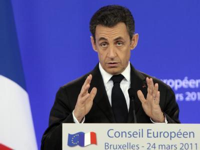 EU-Gipfel: Frankreichs Präsident Sarkozy droht allen arabischen Diktatoren.